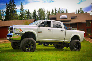 "2015 Dodge Cummins 3500 8"" BDS Lift Kit/Fuel Wheels"