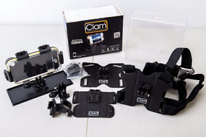 iClam Waterproof & Shockproof iPhone Case w/ Chest Harness