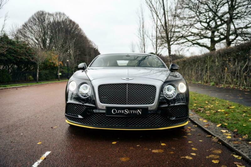 2016 Bentley Continental GT Speed Breitling Edition  Petrol black Automatic