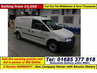 2009 - 59 - VOLKSWAGEN (VW) CADDY MAXI C20 1.9TDI 104PS VAN / VOLKSWAGON