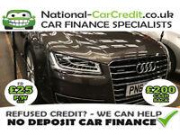 Audi A8 3.0 TDI SPORT EXECUTIVE Good / Bad Credit Car Finance (brown) 2014