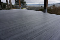 NEED NEW VINYL DECKING FREE ESTIMATES I'll Bring Samples to you
