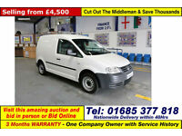 2010 - 60 - VOLKSWAGEN (VW) CADDY 2.0SDI 69PS VAN / VOLKSWAGON