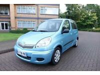 2004 Toyota Yaris Verso 1.3 VVTi Left hand drive lhd French Registered
