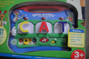 Leap Frog Word Whammer Fridge Phonics-26 letters-COMPLETE