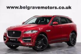 """image for 2016 Jaguar F-Pace R-SPORT PANORAMIC ROOF 22"""" HAWKE ALLOYS TWO-TONE INTERIO"""