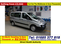 2009 CITROEN DISPATCH 1.6HDI 90PS 5 SEAT DISABLED ACCESS MINIBUS (GUIDE PRICE)