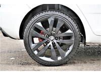2014 Skoda Fabia 1.4 TSI vRS Auto Seq 5dr Petrol white Semi Auto