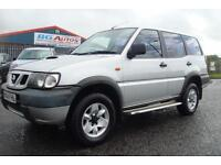 04 NISSAN TERRANO 2.7 TDI S LWB 7 SEATER SILVER 1 OWNER