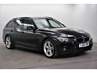 2014 BMW 3 Series 320D M SPORT TOURING Diesel black Manual