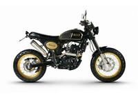 Bullit Hero 250 250cc Motorcycle Retro Scrambler Motorbike Finance & Delivery