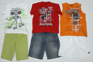 Boy's summer clothing (size S/5-6, 6-7 years) - 17 pieces