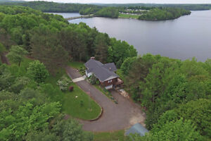 Wonderful Waterfront Property in Central New Brunswick, Canada!