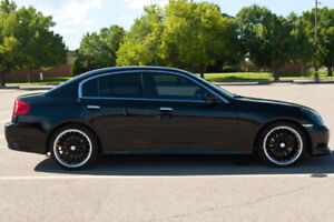 Looking for 2005-2006 Infinity g35x black.