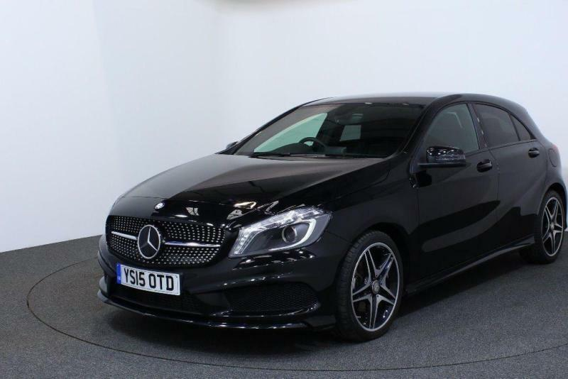 2015 mercedes benz a class 2 1 a200 cdi amg night edition 7g dct 5dr in sheffield south. Black Bedroom Furniture Sets. Home Design Ideas