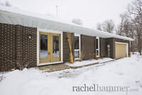 *VIEW OF RIVER & GATINEAU HILLS - Bungalow with walk out LL