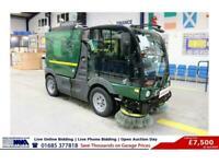 2015 MATHIEU MC200 AZURA 5TON MINI SWEEPER (GUIDE PRICE) SWEEPER Diesel Automati