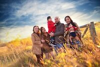 FAMILY PHOTOGRAPHY - FULL SESSION  + CD