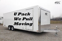 U Pack We Pull Moving $50.00 /hr Call Elizabeth  (204) 229-3266