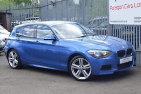 2013 BMW 1 Series 118 Hatch 5Dr 2.0d 143 SS M Sport A8 Diesel blue Automatic
