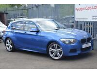 2013 BMW 1 Series 118 Hatch 5Dr 2.0d 143 SS M Sport A8 Diesel blue Automatic