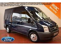 2010 Ford Transit 2.2TDCi (115PS) 6 X SPEED (Med Roof) MWB-NO VAT-BLUETOOTH-A/C-