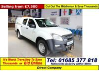 2014 - 14 - ISUZU D-MAX 2.5 TD DOUBLE CAB 4X4 PICK-UP (GUIDE PRICE)