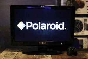"Polaroid 19"" LED 720p HD TV with Bluetooth Remote, HDMI"