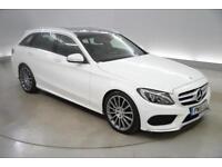 Mercedes-Benz C Class C220 BlueTEC AMG Line Premium Plus 5dr Auto