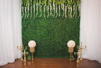 Flower walls / Marquee letters / Love letters