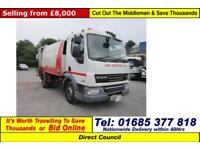 2010 - 10 - DAF LF 45.220 4X2 12TON NTM BODY REFUSES VEHICLE (GUIDE PRICE)