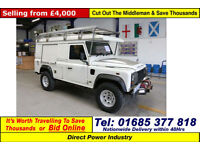 2007 - 57 - LAND ROVER DEFENDER 110 2.4TDCI HARD TOP 4X4 (GUIDE PRICE)