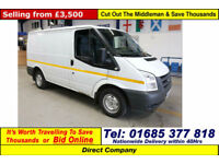 2011 - 61 - FORD TRANSIT T280 2.2TDCI 85PS FWD SWB VAN (GUIDE PRICE)