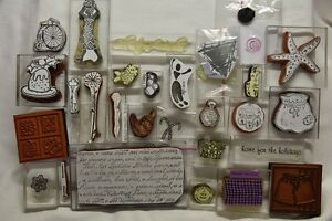 RUBBER STAMPS MIXED LOT - $30 the lot Page Belconnen Area Preview