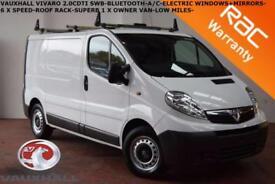 2014 Vauxhall Vivaro 2.0CDTi (90ps) (EU V) 2700 EcoFLEX SWB