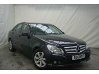 2011 Mercedes-Benz C Class C220 CDI BLUEEFFICIENCY SE Diesel black Manual