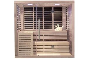 Oakville 6-Person Dual FIR and Steam Sauna