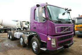 2009 VOLCO FM 400 8X4 CHASSIS CAB TRUCK / EXPORT TIPPER ACTROS MAN