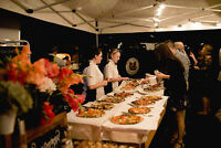 Wedding caterer for dinner or late night snack wood fired pizza