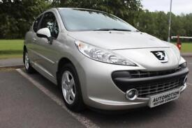 Peugeot 207 XR 1.4 3 Door Hatchback, Cheap To Run, Ideal First Car