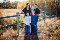 Beautiful photos for you and your family! Only $199