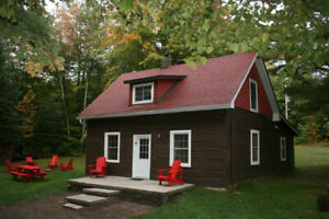 Log Cottage For Rent on Bear Lake