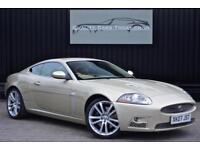 2008 Jaguar XKR 4.2 V8 Supercharged Coupe * Winter Gold +Bowers&Wilkins+Big Spec