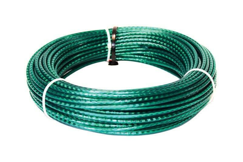 """Ace Weather PVC Coated Resistant Wire Cable Clothesline 5/32"""" x 100"""