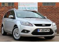 Ford Focus 1.6 TDCi Titanium Estate Manual Diesel in Moondust Silver