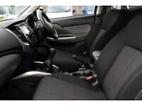 2016 Mitsubishi L200 2.4 DI-D Titan Double Cab 4WD 4dr Diesel white Manual