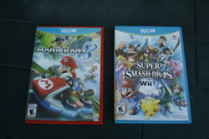 Wii U games - perfect condition