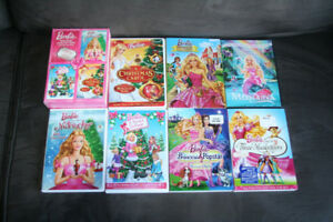 7 Barbie Movies DVDs