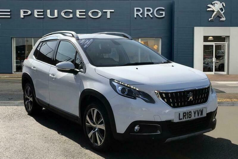 2018 Peugeot 2008 1 2 PureTech Allure (s/s) 5dr Petrol white Manual | in  Chadderton, Manchester | Gumtree