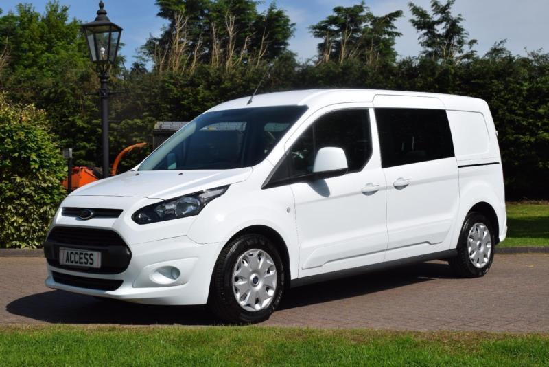 ford transit connect 5 seat crew van l2 lwb in pilgrims. Black Bedroom Furniture Sets. Home Design Ideas